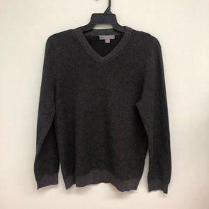 Cloudveil   Men's Knit V-Neck Sweater   Grey